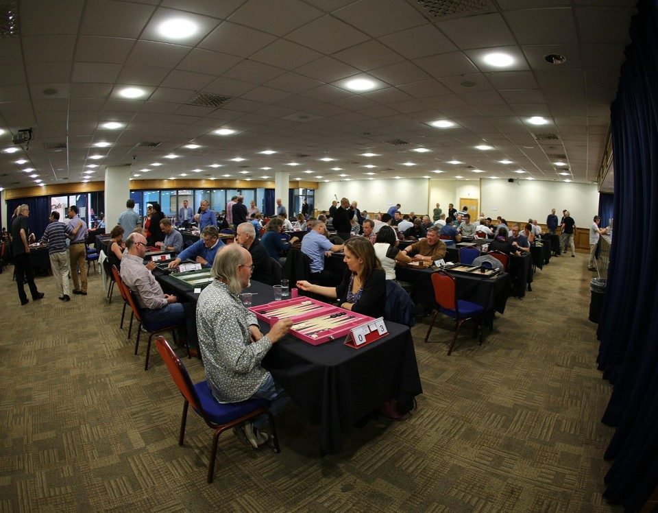 2014 UK Open in the Ricoh Legends Lounge, by David Startin