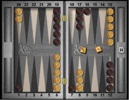 Backgammon Position