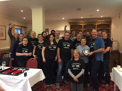 Cork v Worcester with Dena O'Donavan (Hotel Proprietor) presenting the trophy