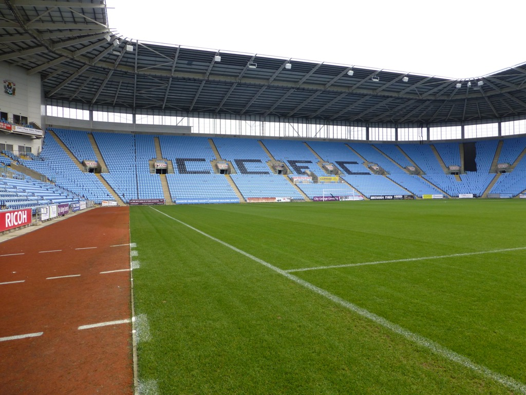 Football pitch at the Ricoh
