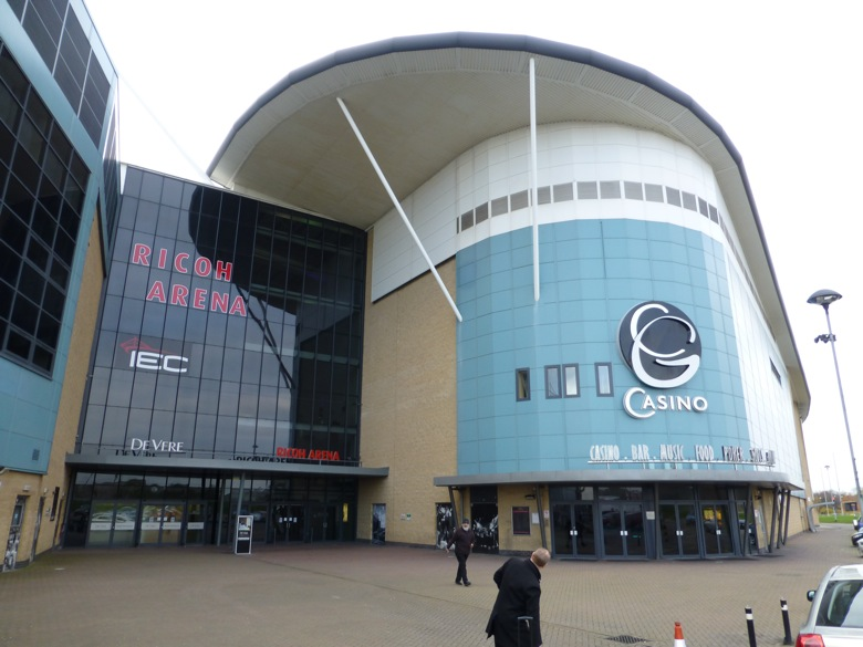 The Grosvenor G Casino at the Ricoh Arena