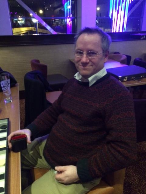 Manchester victor: Bob Slater
