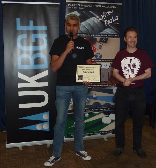 british backgammon awards 2016 - the results
