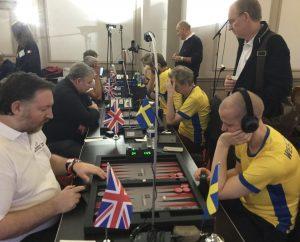 UK v Sweden, at the WBGF World Team Championship